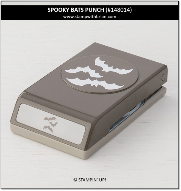Spooky Bats Punch, Stampin' Up!, 148014