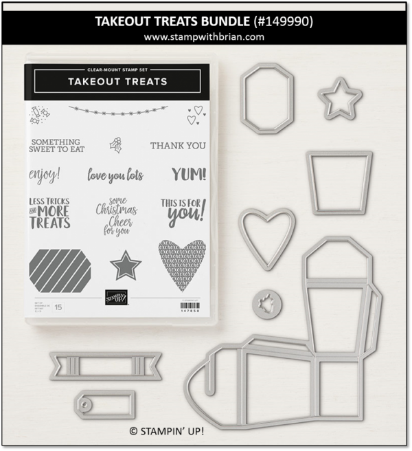 Takeout Treats Bundle, Stampin' Up! 149990