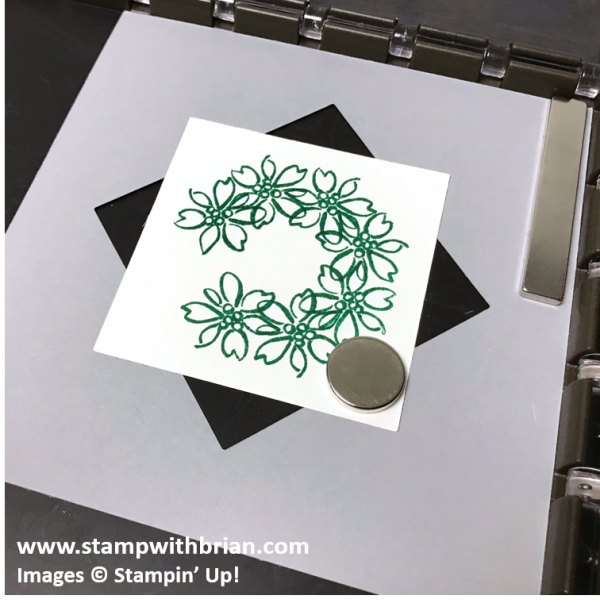 7 - Creating a Wreath with the Stamparatus, Stampin' Up!, Brian King