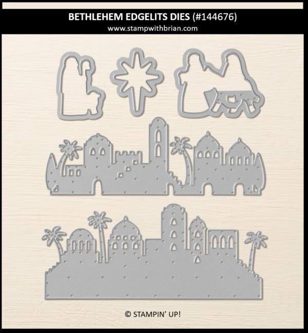 Bethlehem Edgelits Dies, Stampin' Up! 144676