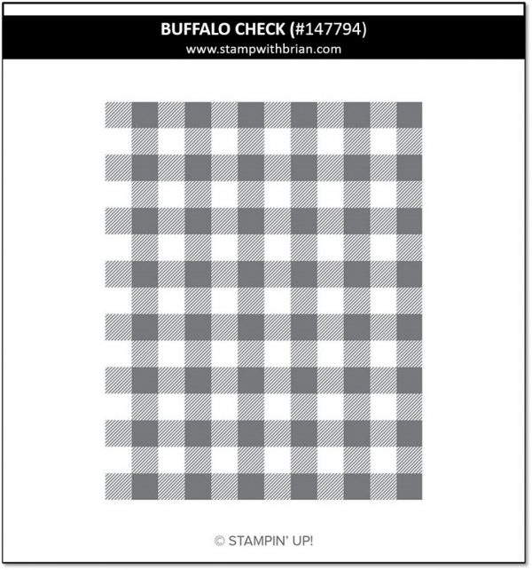 Buffalo Check, Stampin' Up! 147794