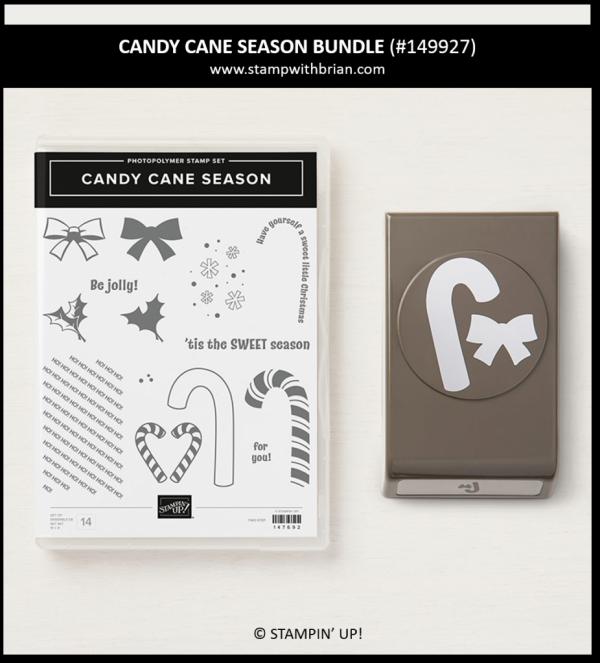 Candy Cane Season Bundle, Stampin' Up! 149927