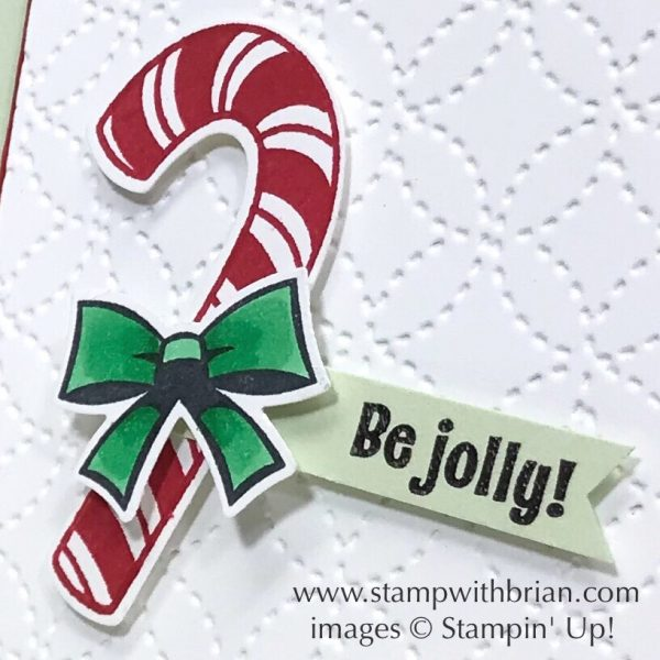 Candy Cane Season, Stampin' Up!, Brian King
