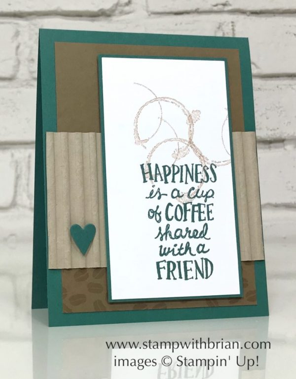 Coffee Cafe, Timeless Textures, Stampin' Up!, Brian King