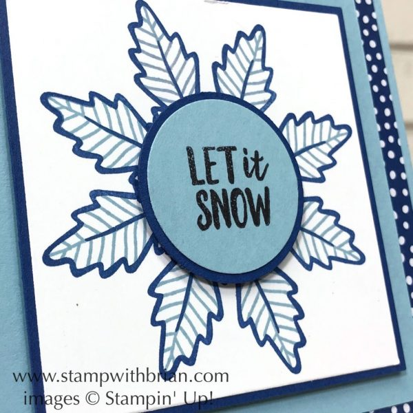 Falling for Leaves, Alpine Adventure, Stampin' Up!, Brian King