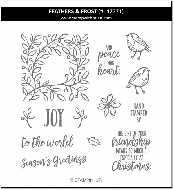 Feathers & Frost, Stampin' Up! 147771