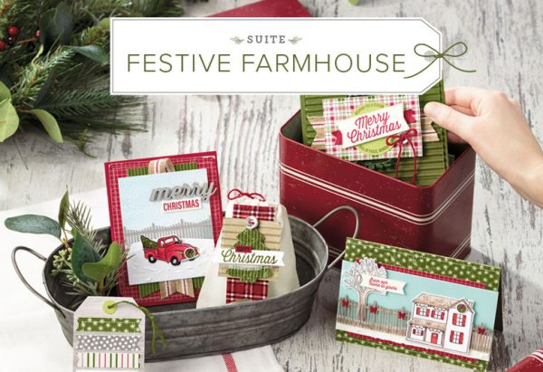 Festive Farmhouse Suite, Stampin' Up! 2018 Holiday Catalog, 11016