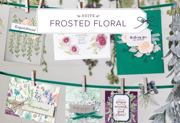 Frosted Floral Suite, Stampin' Up! 2018 Holiday Catalog, 11019
