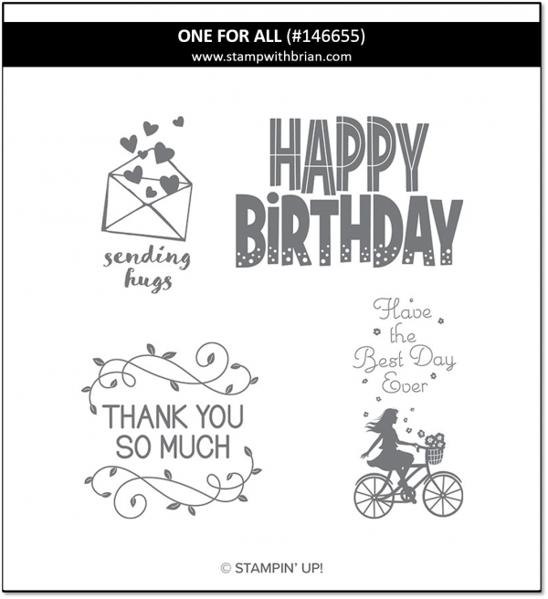 One for All, Stampin' Up! 146655