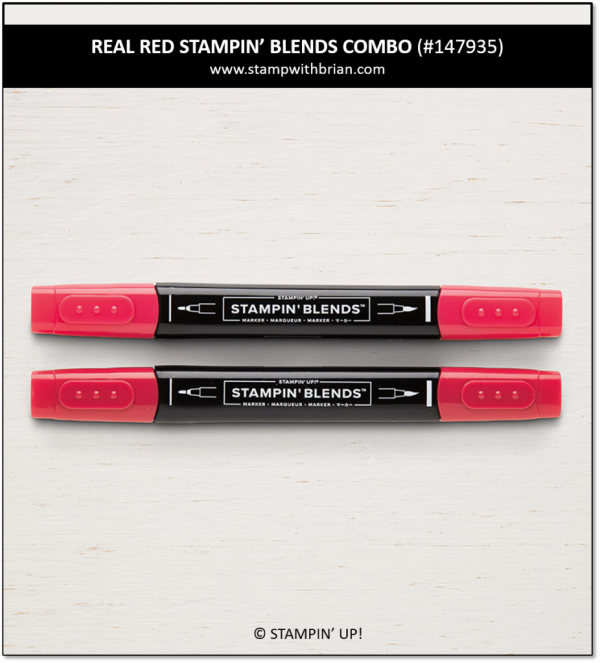 Real Red Combo Pack Stampin' Blends, Stampin' Up! 147935