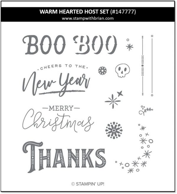 Warm Hearted Host Set, Stampin' Up!, 147777