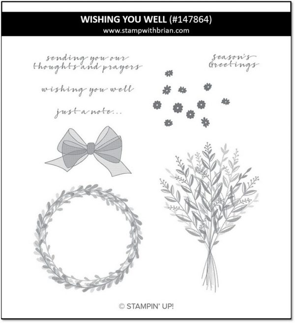 Wishing You Well, Stampin' Up! 147864