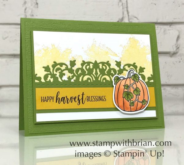 Country Home, Seasonal Chums, Artisan Textures, Delicate Lace Edgelits, Stampin' Up!, Brian King, GDP161