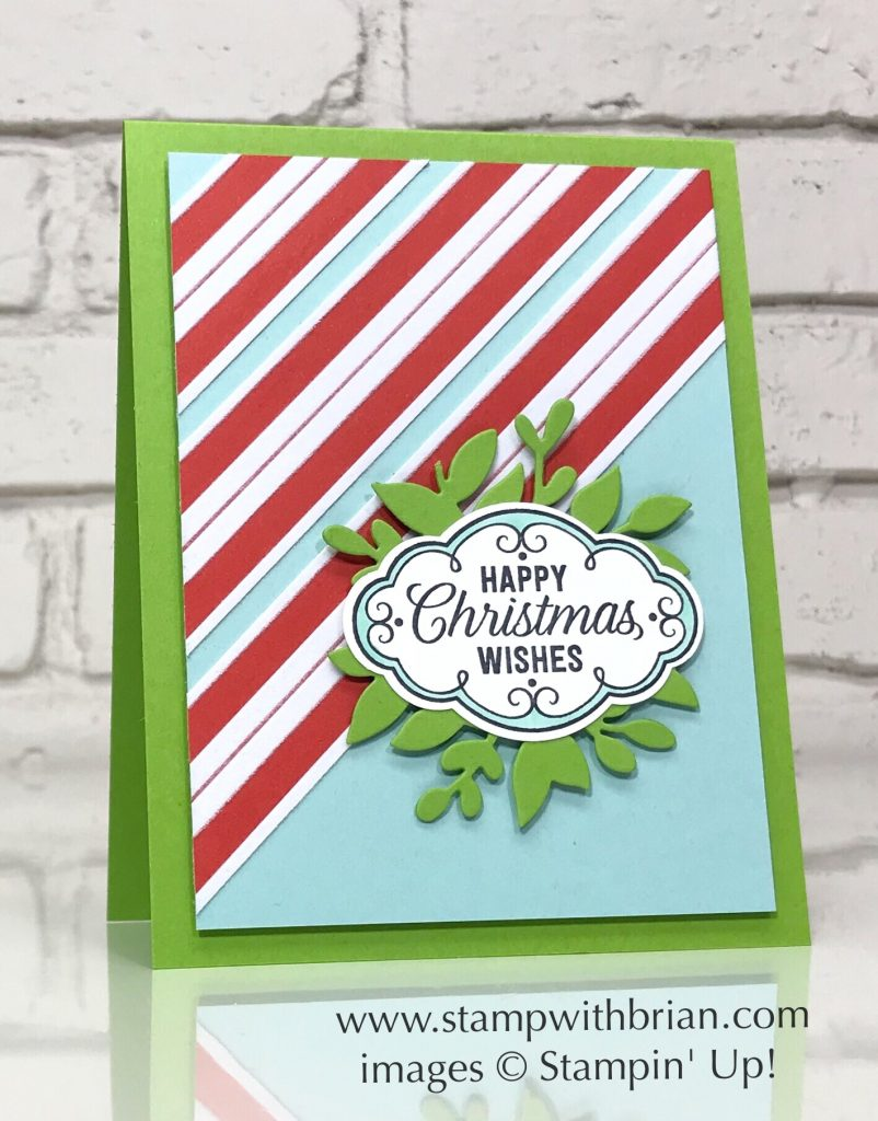Flourish Filigree, Santa's Workshop Specialty Designer Series Paper, Stampin' Up!, Brian King