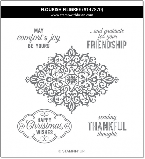 Flourish Filigree, Stampin' Up!, 147870