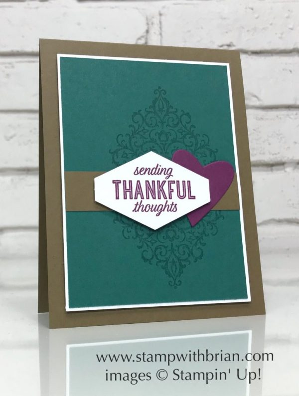 Flourish Filigree, Stampin' Up!, Brian King, CTS293
