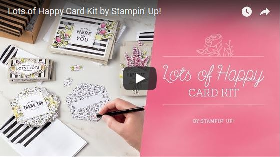 Lots of Happy Card Kit, Stampin' Up!