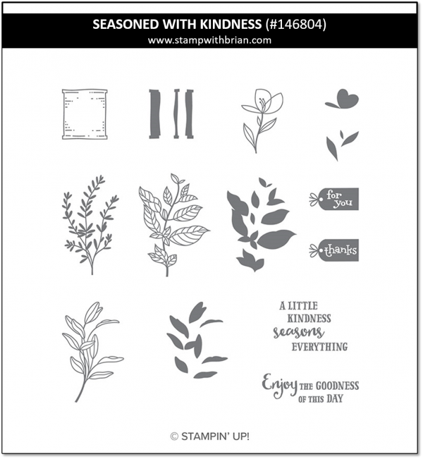 Seasoned with Kindness, Stampin' Up! 146804