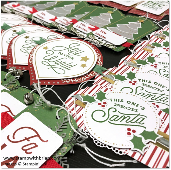 Sincerely Santa Project Kit, Stampin' Up!, Brian King
