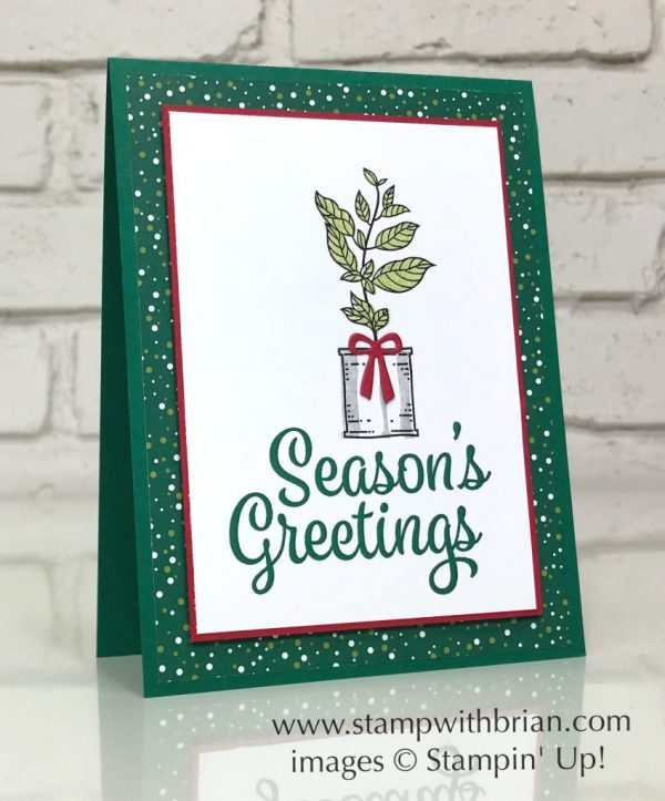 Snowflake Sentiments, Seasoned with Kindness, Stampin' Up!, Brian King