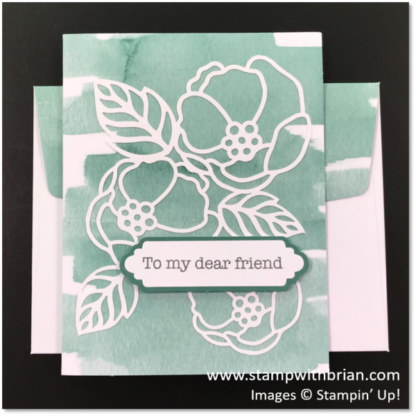 Soft Sayings Card Kit Alternative Projects, Stampin' Up!, Brian King
