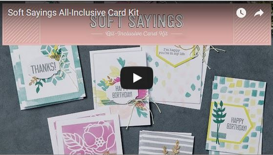 Soft Sayings Kit, Stampin' Up!