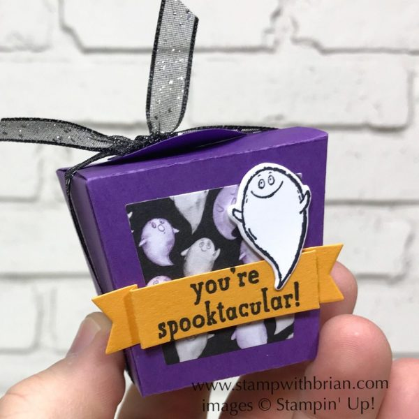 Takeout Thinlits Dies, Trick or Tweet, Cauldron Bubble, Stampin' Up!, Brian King