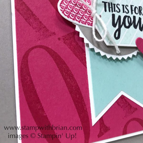 Takeout Treats, Letters for You, Stampin' Up!, Brian King