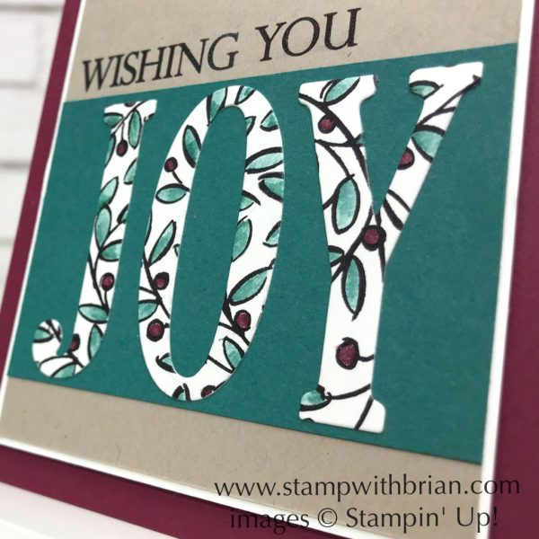 Feathers & Frost, Merry Christmas to All, Stampin' Up!, Brian King