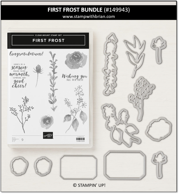 First Frost Bundle, Stampin' Up!, 149943