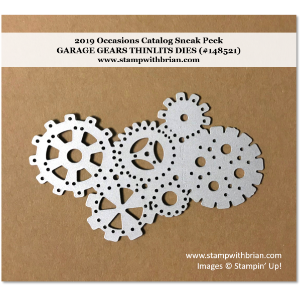 Garage Gears Thinlits Dies, Stampin' Up! 148521