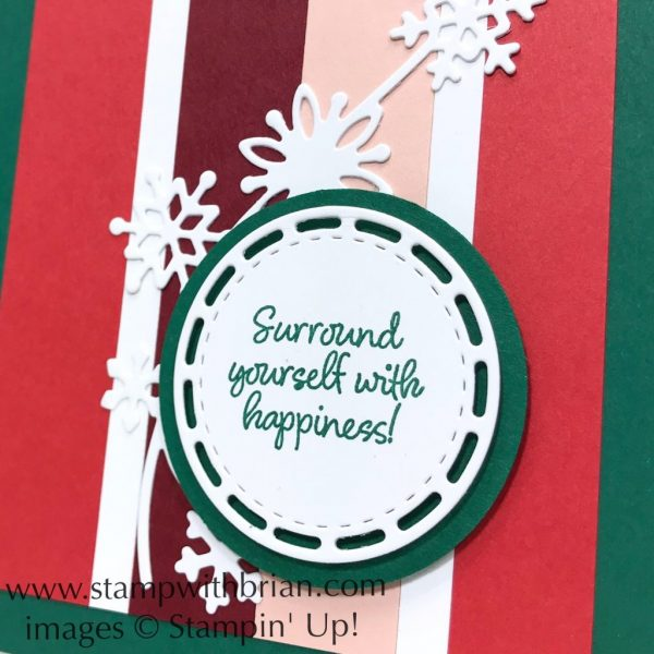 Happiness Surrounds, Snowfall Thinlits Dies, Stampin' Up!, Brian King