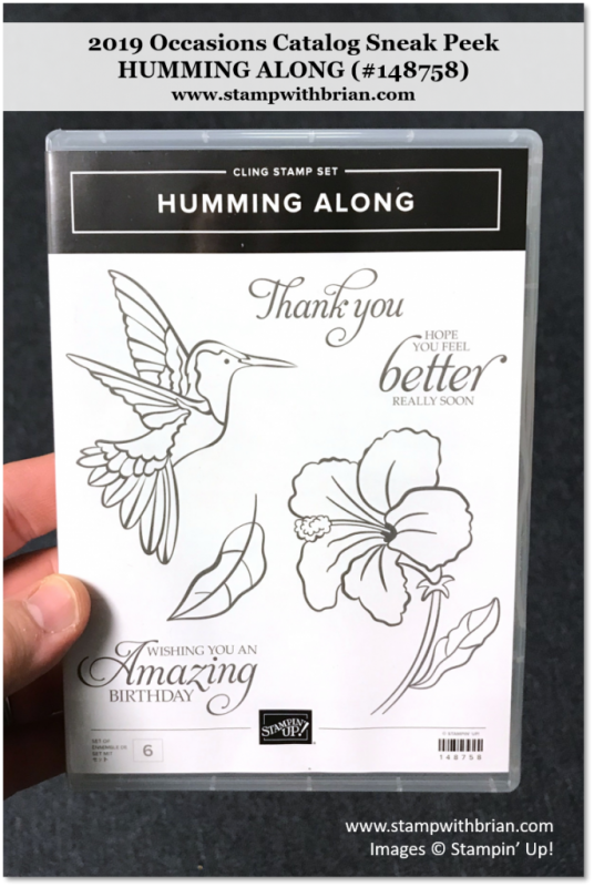 Humming Along, Stampin' Up!, 148758