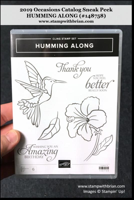 Humming Along, Stampin' Up!, 148758