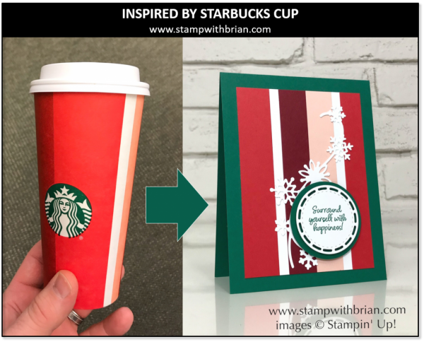 Inspired by Starbucks' 2018 Holiday Cup, Brian King