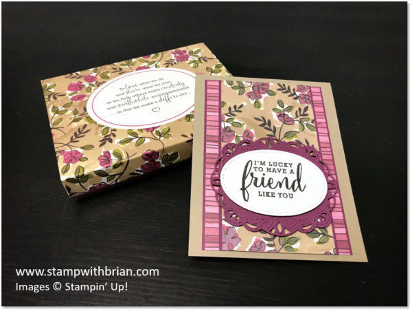 Love What You Do, Share What You Love Specialty Designer Series Paper, Stampin' Up!, Brian King