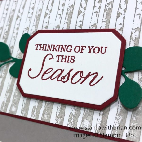 Frosted Bouquet Framelits Dies, Winter Woods, Stampin' Up!, Brian King