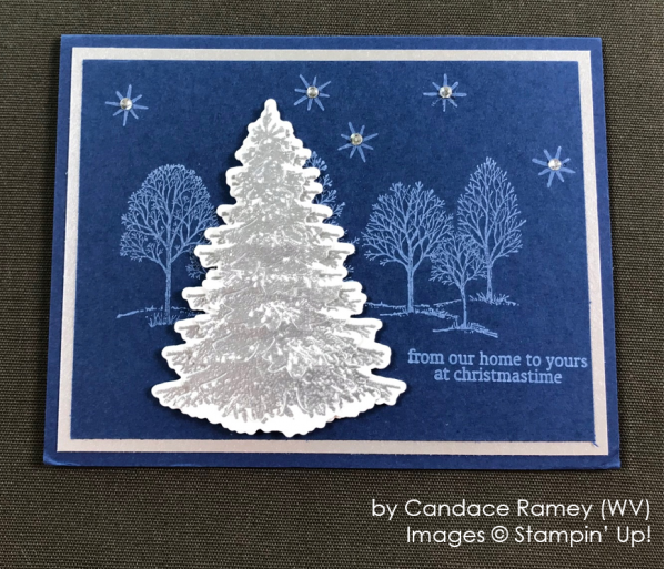 by Candace Ramey, Stampin' Up! One-by-One Holiday Card Swap