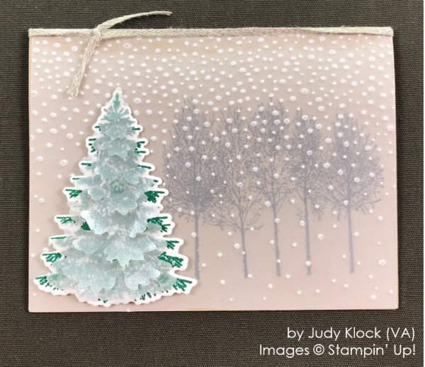 by Judy Klock, Stampin' Up! One-by-One Holiday Card Swap