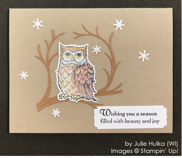 by Julie Hulka, Stampin' Up! One-by-One Holiday Card Swap