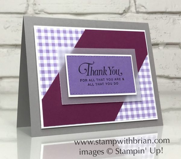 All That You Are, Stampin' Up!, Brian King, GDP301