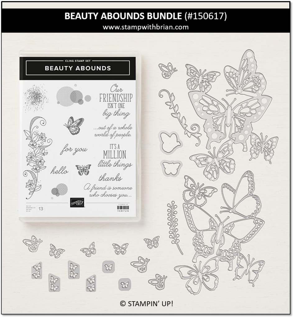 Beauty Abounds Bundle, Stampin' Up! 150617