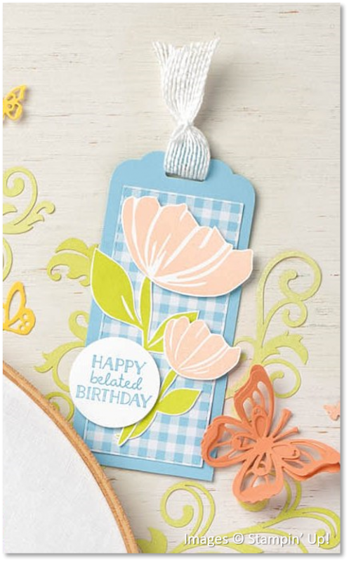 Bloom by Bloom, Itty Bitty Birthdays, Stampin' Up!
