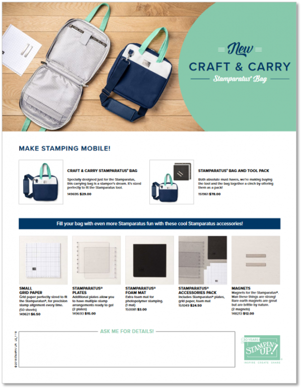 Craft & Carry Bag Flyer