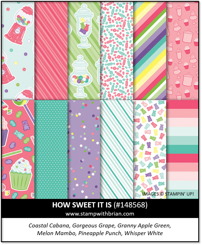 How Sweet It Is, Stampin' Up! 148568