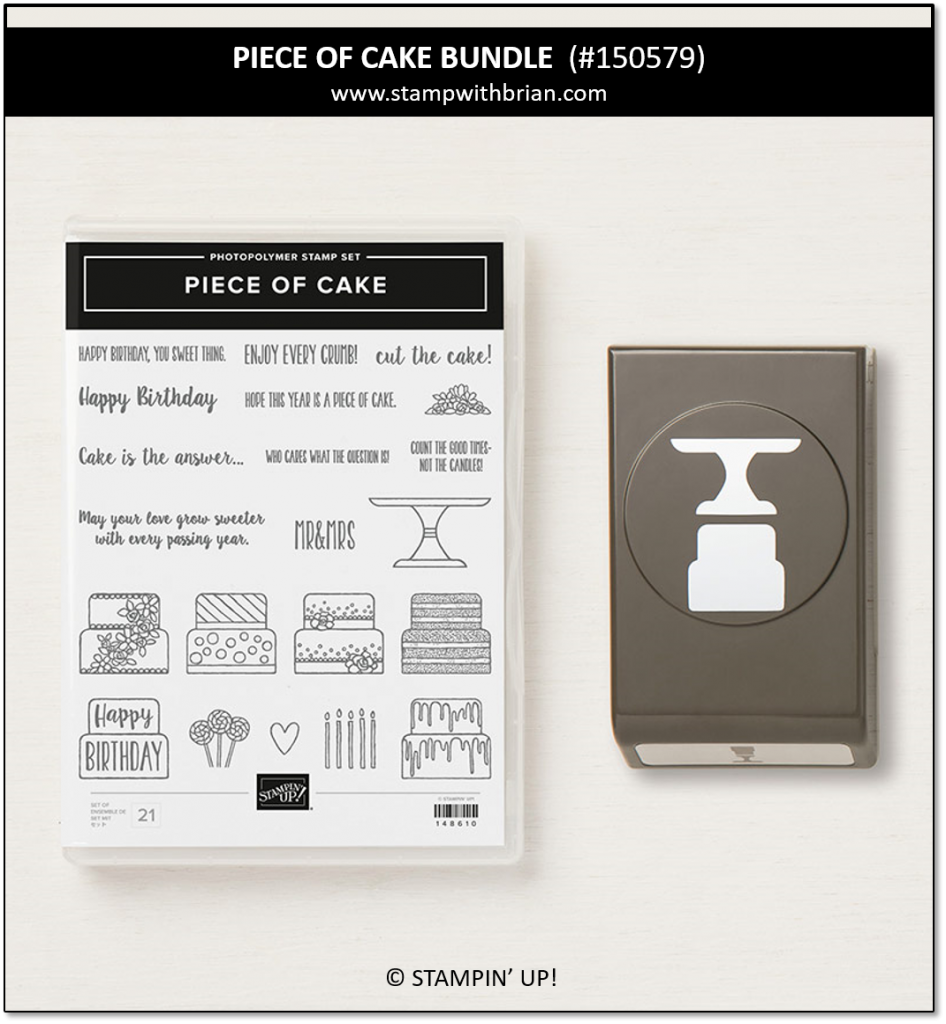 Piece of Cake Bundle, Stampin' Up! 150579