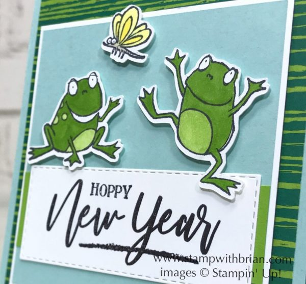 So Hoppy Together, Warm Hearted, Stampin' Up!, Brian King, New Year card