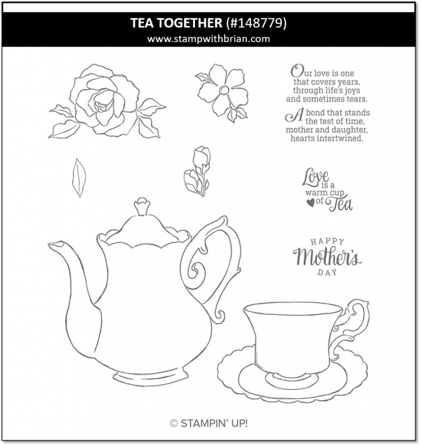 Tea Together, Stampin' Up! 148779