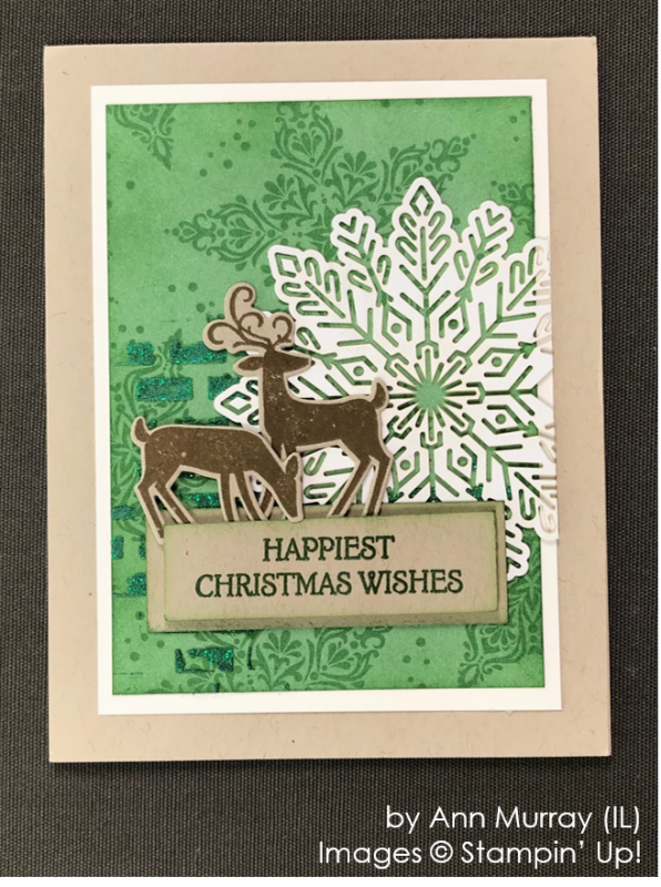 by Ann Murray, Stampin' Up! One-by-One Holiday Card Swap