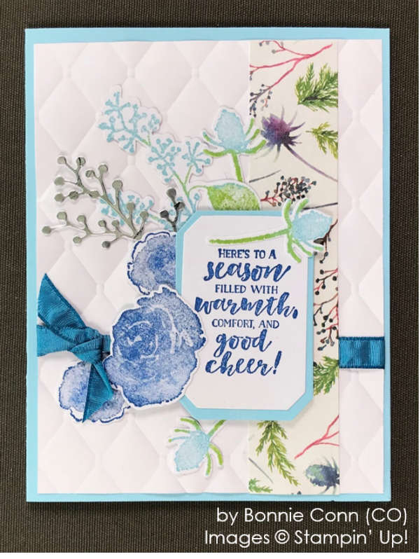 by Bonnie Conn, Stampin' Up! One-by-One Holiday Card Swap